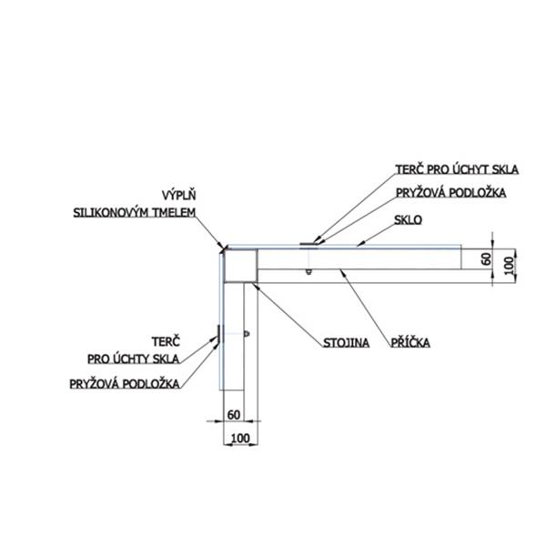 Konstrukce výtahových šachet 7 vytahova sachta detail zaskleni2 praha