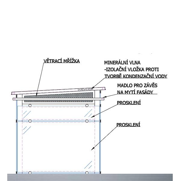 Konstrukce výtahových šachet 4 vytahy praha kubik vetrani