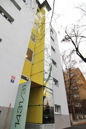 Stavba atypického výtahu na Praze 6 1 vytahy kubik praha 6 brevnov
