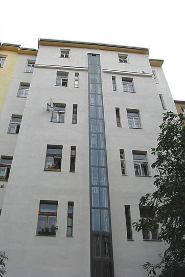 Stavba 2 výtahů - Praha 10 1 vytahy moderni praha 10 kubik vytahy