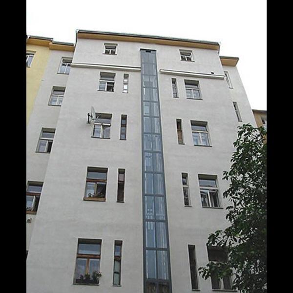 Stavba 2 výtahů - Praha 10 2 vytahy moderni praha 10 kubik