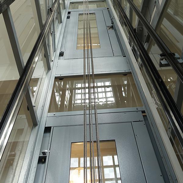 Stavba výtahu na Praze 4 v Pacovské ulici 3 vytahy praha 4 pacovska kubik