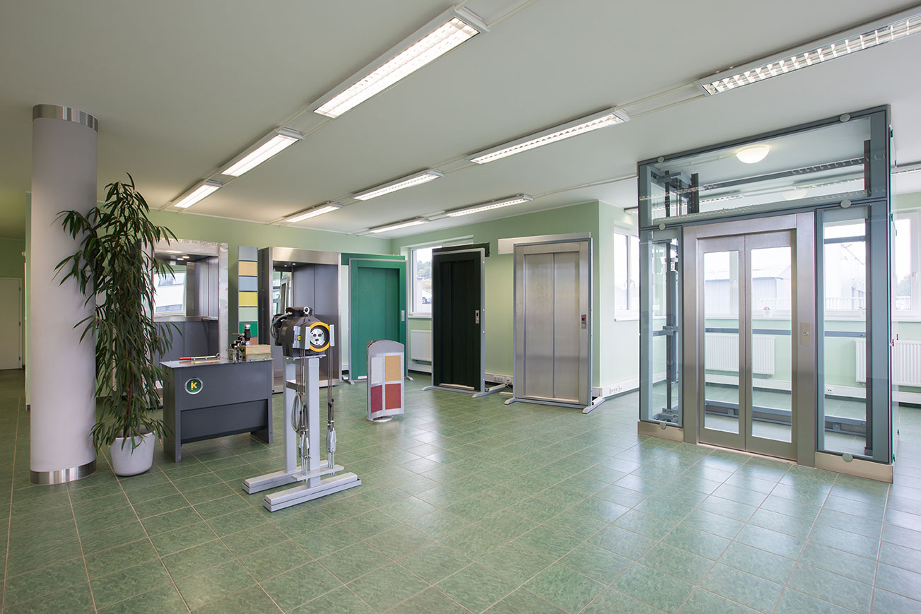 Showroom výtahů aneb jak vybrat výtah bez katalogu 1 vytahy showroom kubik