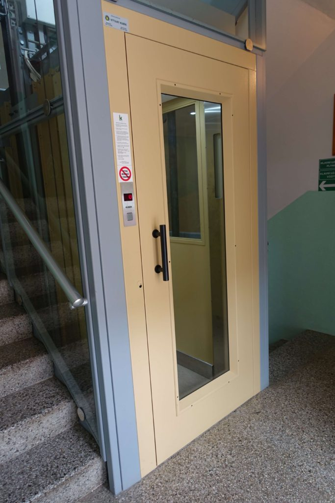 Přestavba výtahu v Cihlářově ulici na Praze 4 7 Cihlářova 3