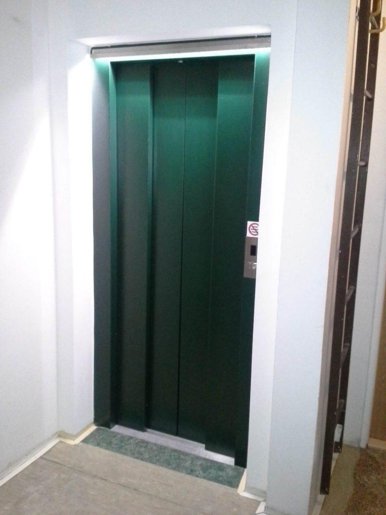 Rekonstrukce výtahu na Chodově 2 Klírova 1