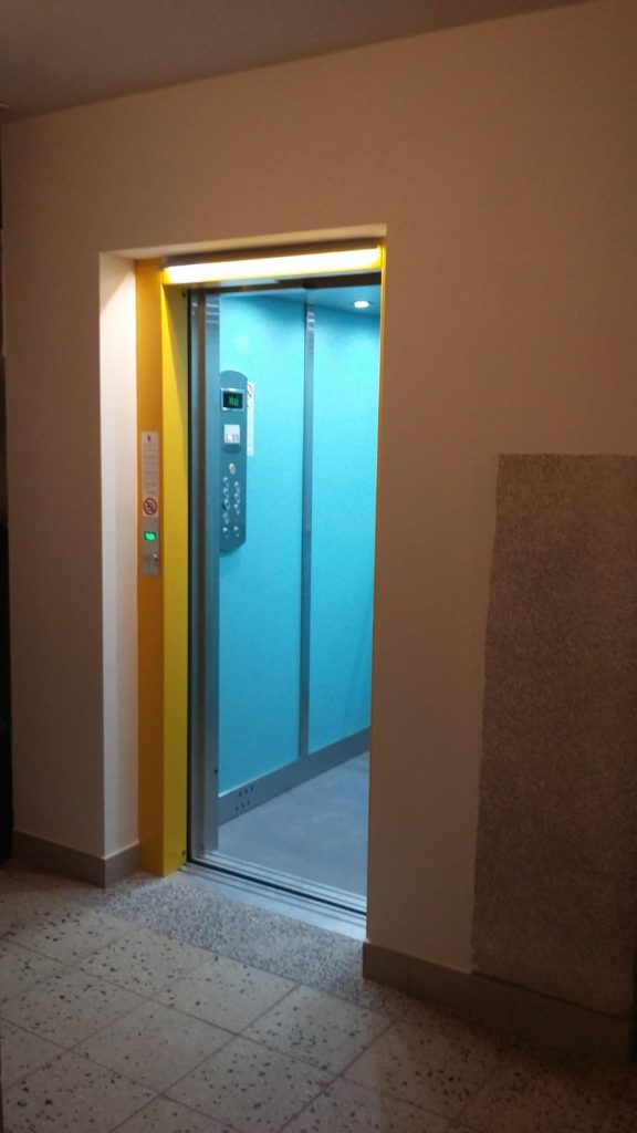 Rekonstrukce výtahu v Blatenské ulici na Praze 4, Roztyly 11 blatenska vytahy 12