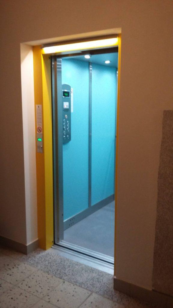 Rekonstrukce výtahu v Blatenské ulici na Praze 4, Roztyly 6 blatenska vytahy 13