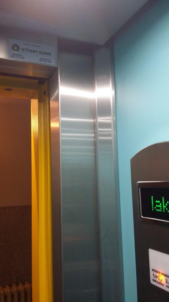 Rekonstrukce výtahu v Blatenské ulici na Praze 4, Roztyly 4 blatenska vytahy 15