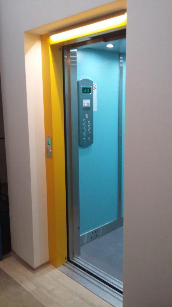 Rekonstrukce výtahu v Blatenské ulici na Praze 4, Roztyly 17 blatenska vytahy 2