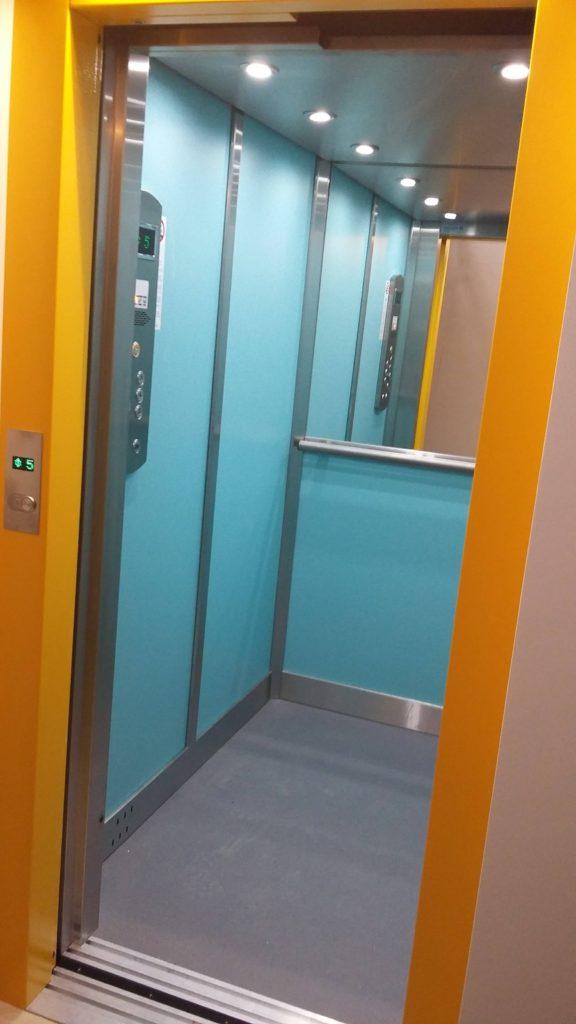 Rekonstrukce výtahu v Blatenské ulici na Praze 4, Roztyly 16 blatenska vytahy 3