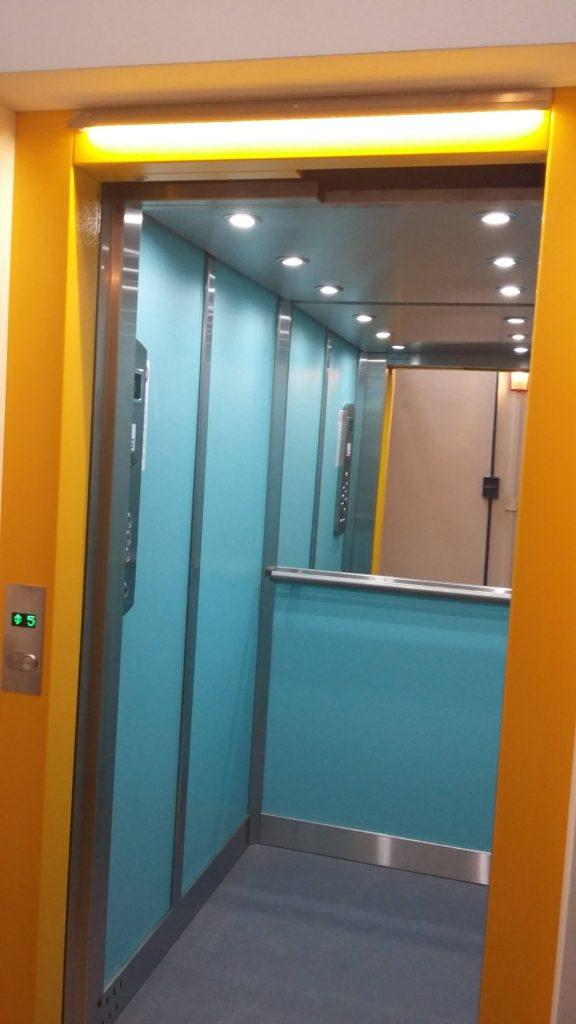 Rekonstrukce výtahu v Blatenské ulici na Praze 4, Roztyly 7 blatenska vytahy 9