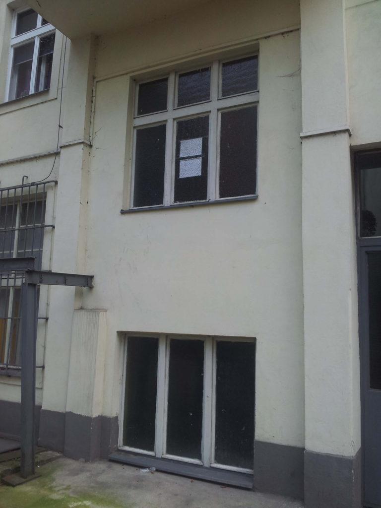 Stavba výtahu v Plzeňské ulici na Praze 5 6 Plzeňská 5