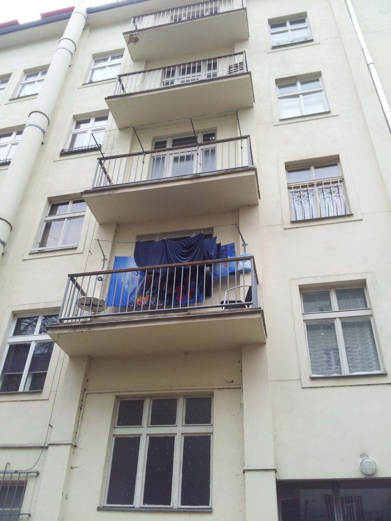 Stavba výtahu v Plzeňské ulici na Praze 5 1 Plzeňská.7