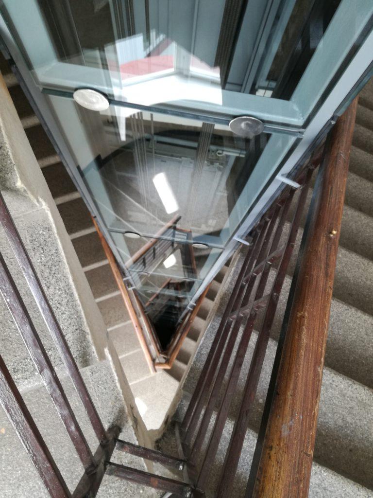 Stavba výtahu v Pravé ulici v Podolí 1 Pravá 19 2