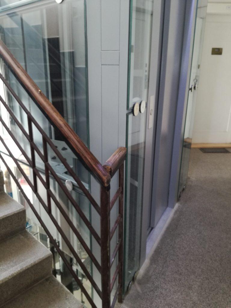 Stavba výtahu v Pravé ulici v Podolí 39 Pravá 19 3