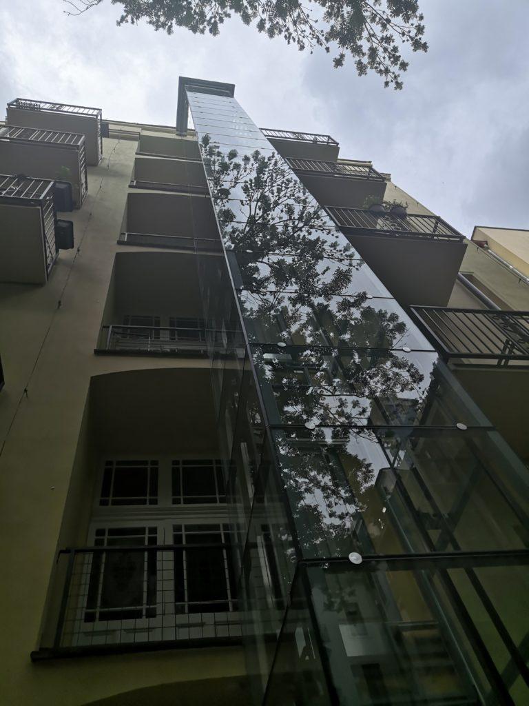 Stavba výtahu ve Zborovské ulici na Praze 5 3 Zborovská 20 Praha 5 1